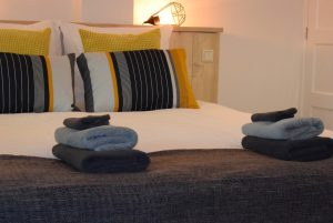 Bed and Breakfast Enkhuizen - Kamer 3 - Bed (Medium)